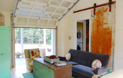 Creative Ways With Barn-Style Doors