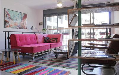 My Houzz: Colorful Weekend Apartment Getaway in Israel