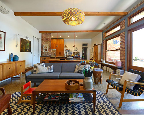 Cheap mid century modern furniture houzz - How to decorate mid century modern on a budget ...