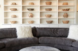 My Houzz: Contemporary Boho Glam Style in a Wine Country Home