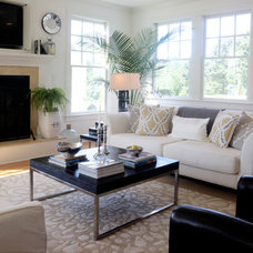 Farmhouse Living Room by Adrianna Beech