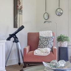Farmhouse Living Room by Adrianna Beech