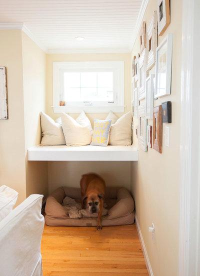 Shabby-chic Style Living Room by Shelley Zatsky Photography