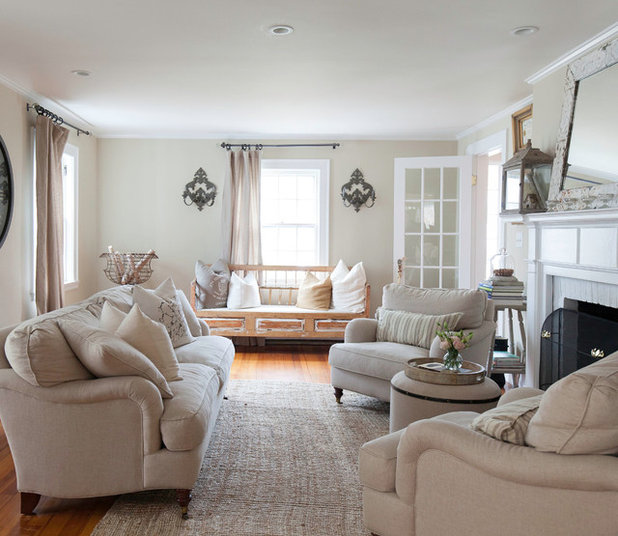 My Houzz Cozy Comfort And Neutral Style In New England