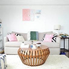 Eclectic Living Room by Planning Pretty