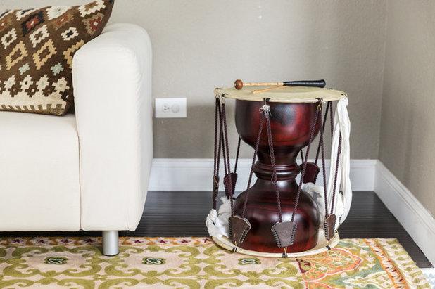 Eclectic Living Room by Lauren Edith Andersen, Photographer