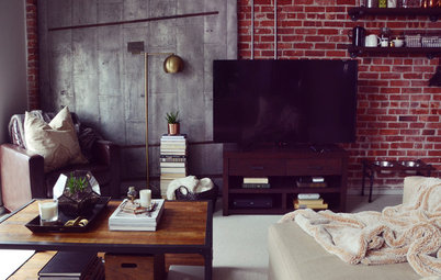 My Houzz: A Moody Industrial Loft in Boston