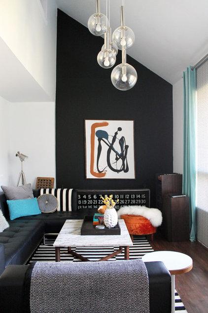 Midcentury Living Room by Laura Garner