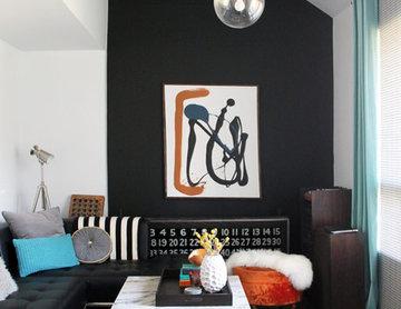 My Houzz: DIY determination in Mid-Century modern Montreal home