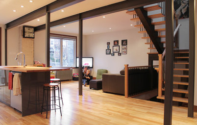 My Houzz: Duplex Now a Bright and Spacious Single-Family Home