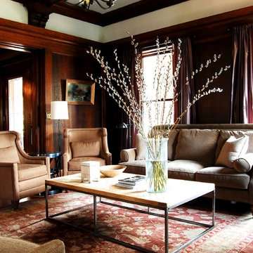 My Houzz: Early 1900s Home blends Traditional Design with Comfort and Style