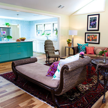 My Houzz: Eclectic and Colorful in Central Austin