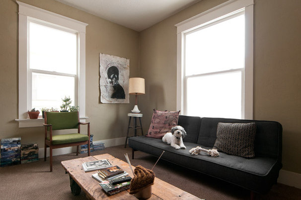 Contemporary Living Room by Lucy Call