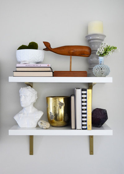 Eclectic Living Room by Design Fixation [Faith Provencher]