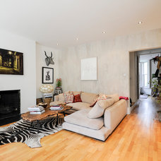 Eclectic Living Room My Houzz: Eclectic Vibes Unite a Holland Park Flat
