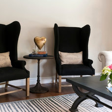 Transitional Living Room by Angela Flournoy
