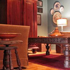 Eclectic Living Room by Laura Garner