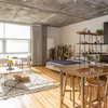 My Houzz:  Fashion Pro Brings DIY Charm to Her Studio Loft