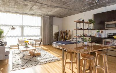 Suivez le Guide :  Le charme arty d'un loft californien