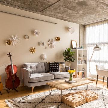My Houzz: Fashion Pro Brings Cool DIY Charm to Her Studio Loft