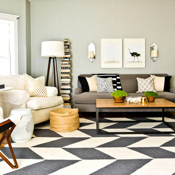 My Houzz: Feminine Chic Charms in a Chicago Rental