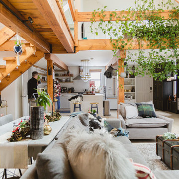 My Houzz: Festive and Fresh Holiday Touches in a Chicago Loft