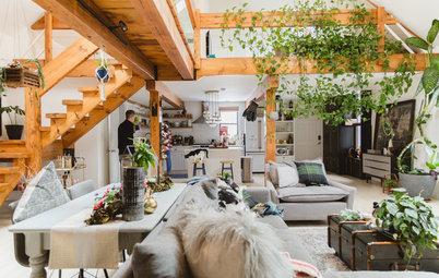 Wie können Räume mit hohen Decken optimal eingerichtet werden?