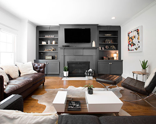 Best Midcentury Living Room Design Ideas Remodel Pictures Houzz