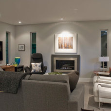 Contemporary Living Room by Heather Merenda