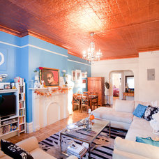 Eclectic Living Room by Chris A. Dorsey Photography