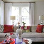 Studio Loft Eclectic Living Room Atlanta By Bricks