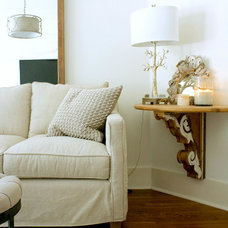Transitional Living Room by Mina Brinkey