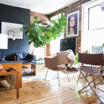 My Houzz: Gentlemen's Club-Meets-Treehouse Style in Brooklyn