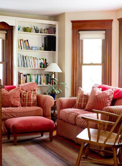 Farmhouse Living Room by Rikki Snyder