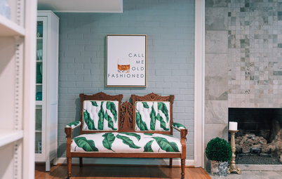 My Houzz: Home's a Place Where She Can Get Creative