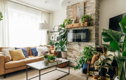 My Houzz: Houseplant-Happy Home in Philadelphia