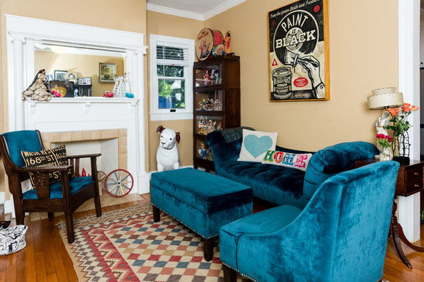 Eclectic Living Room by Jennifer M. Ramos