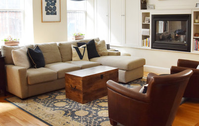 My Houzz: Inviting Transitional Style in a Boston Brownstone