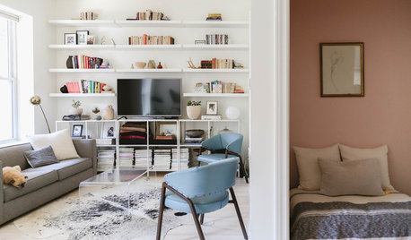My Houzz: Inviting Whites and Pastels Revive a Small City Flat