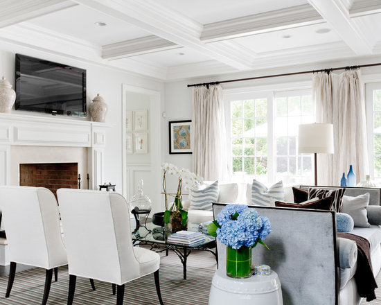 SaveEmailWhite And Navy Living Room   Houzz. Navy And White Living Room. Home Design Ideas