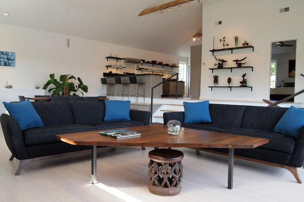 Lovely Contemporary Living Room by Kayla Stark