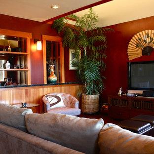Living room photo in San Francisco