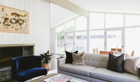 My Houzz: Light and Balance in a 1950s Ranch Redo