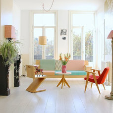 Eclectic Living Room by Holly Marder