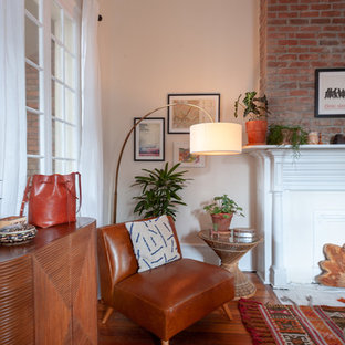 Inspiration for an eclectic living room remodel in New Orleans