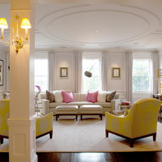 Transitional Living Room by Mary Prince