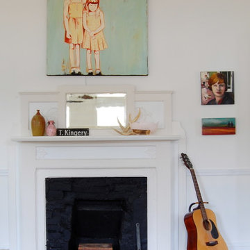 My Houzz: Midcentury Heirlooms and Artwork Charm a 1908 Mississippi Home