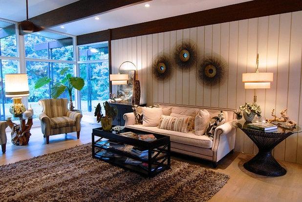 Fabulous Midcentury Living Room by Brenda Olde