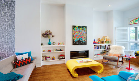 My Houzz: Bold Midcentury Style in a Renovated Victorian Town House