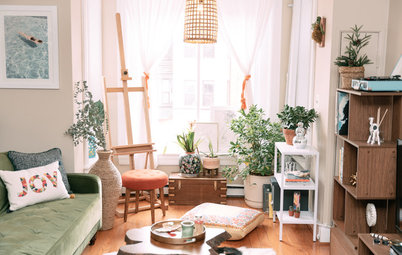 My Houzz: Eclectic Style in a Washington, D.C., Apartment